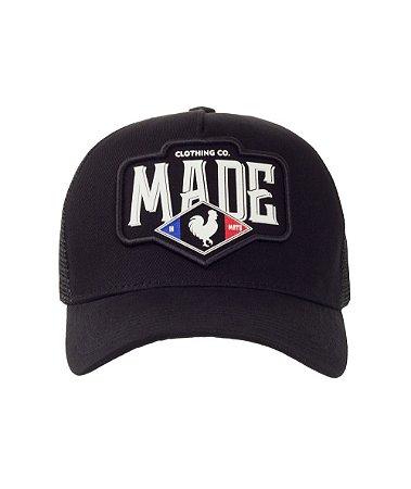 Boné Made in Mato Trucker France Preto