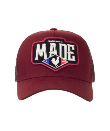 Boné Made in Mato Trucker France Bordô