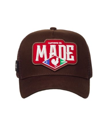 Boné Made in Mato Trucker Marrom