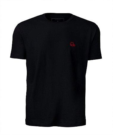Camiseta Básica Preta índio
