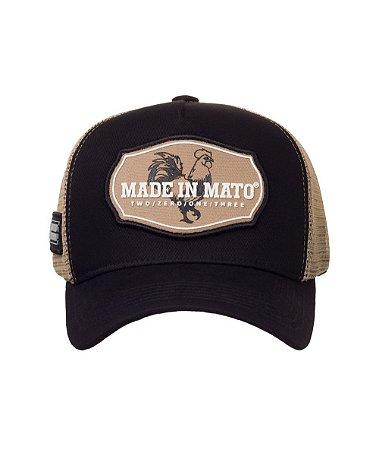 Boné Made in Mato Trucker Gold