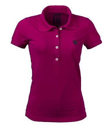 Polo Feminina Made in Mato Pink