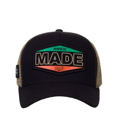 Boné Made in Mato Trucker Vintage Preto
