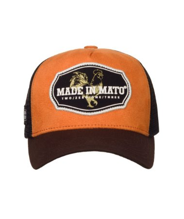 Boné Made in Mato Trucker Orange