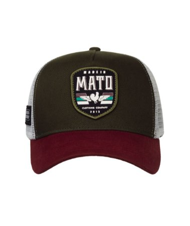 Boné Made in Mato Trucker Wings Green