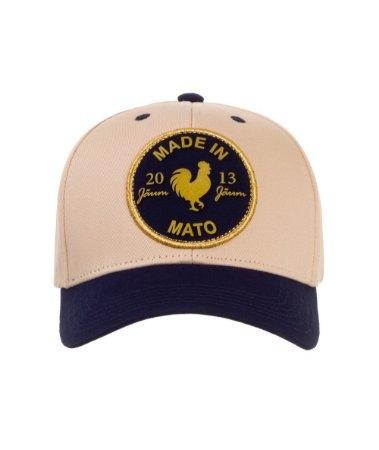 Boné Made in Mato Sport Gold Rooster