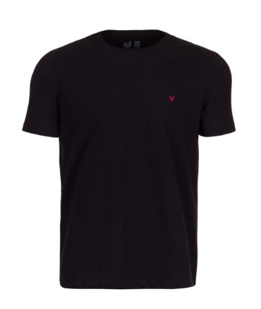 Camiseta Masculina Made in Mato Básica Preta Touch