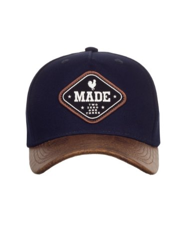 Boné Made in Mato Snapback New Leather