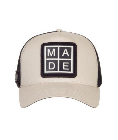 Boné Made in Mato Trucker M A D E  Bege