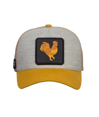 Boné Made in Mato Trucker Rooster Gold