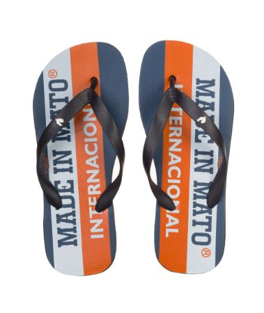 Chinelo Made in Mato Masculino Internacional Laranja