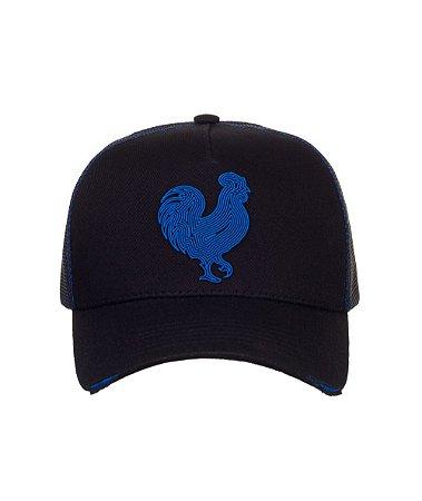 Boné Made in Mato Trucker Curves Blue