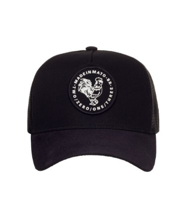 Boné Made in Mato Trucker Rooster White