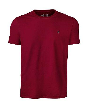Camiseta Masculina Made in Mato Lisa Vermelha