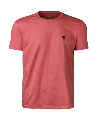 Camiseta Masculina Made in Mato Lisa Coral