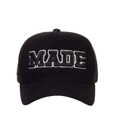 Boné Made in Mato Trucker Made Preto