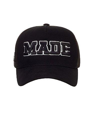 Boné Made in Mato Trucker Made Preto