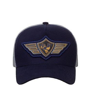 Boné Made in Mato Trucker Wings Blue