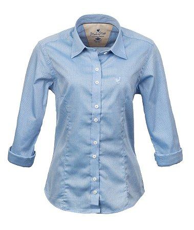 Camisa Feminina Briel Azul