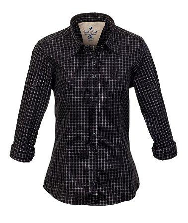 Camisa Feminina Briel Preto