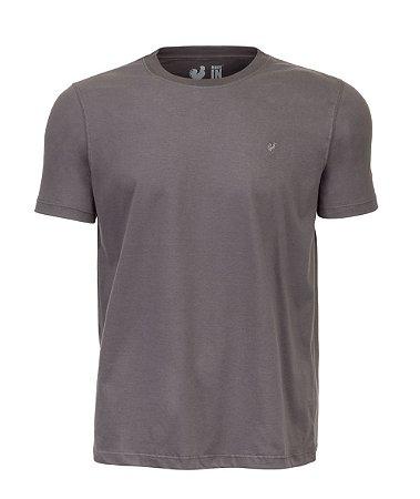 Camiseta Básica Made in Mato Cinza