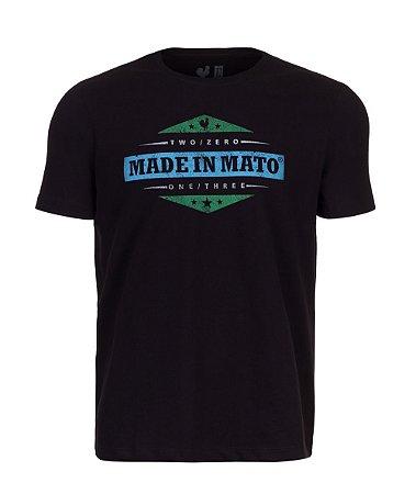Camiseta Estampada Made in Mato Preto