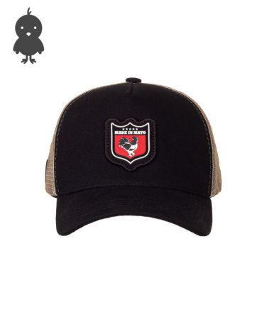 Bone Infantil Trucker Shield