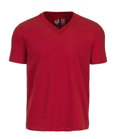 Camiseta Basic Carmim