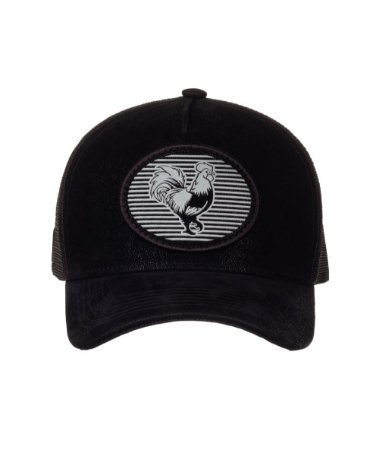 Bone Trucker Medallion Nobuck