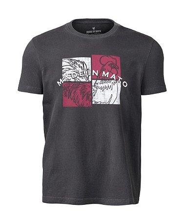 Camiseta Estampada Stone Preto