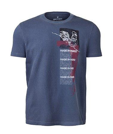 Camiseta Estampada Stone Marinho