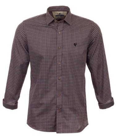 Camisa Masculina Made in Mato Mix Brown