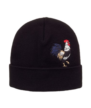 Gorro Made in Mato Vintage Rooster Black