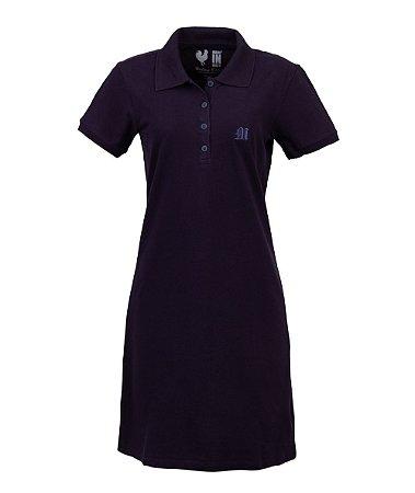 Vestido Polo Made in Mato Dark Marinho