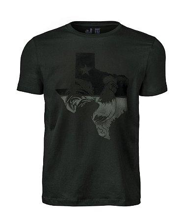 Camiseta Estampada Made in Mato Texas Musgo