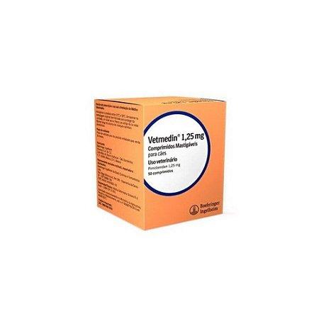 Vetmedin 1,25mg 50 comprimidos -  Boehringer Ingelheim