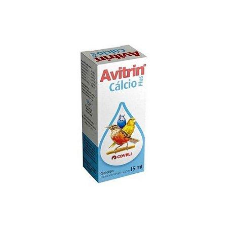 Avitrin Cálcio Plus 15mL - Coveli