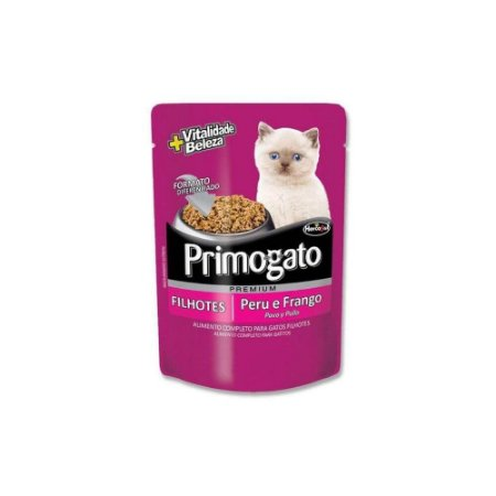 Sache Primogato Filhotes - Peru e Frango - Hercosul
