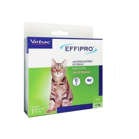 Effipro Antipulgas e Carrapatos para Gatos - Virbac