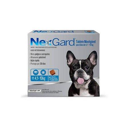 Nexgard Tablete Mastigavel 4,1kg a 10 kg - Merial