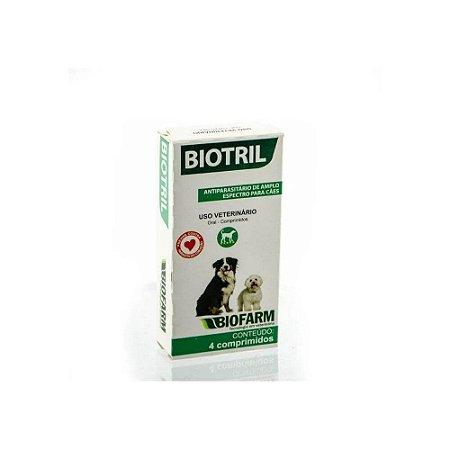 Biotril Comprimido Antiparasitario - Biofarm