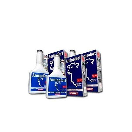 Kit Aminofort 250mL (Caixa com 12) - Vitafort