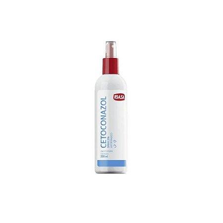 Cetoconazol Fungicida Spray 2% 200mL - Ibasa
