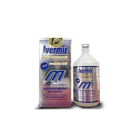 Ivermic Supreme Ivermectina 3,5% 250mL - Microsules