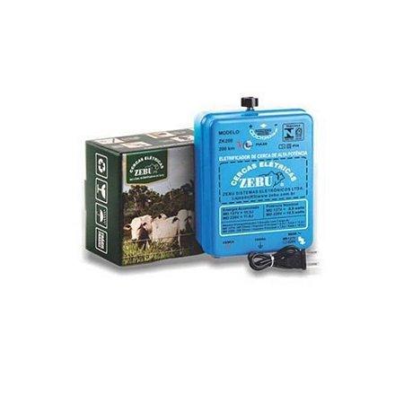 Eletrificador de Cerca ZK200 220V - Zebu