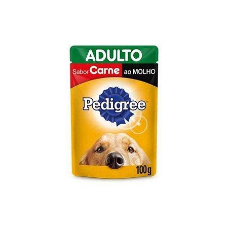 Sachê Pedigree Carne ao Molho para Cães Adultos