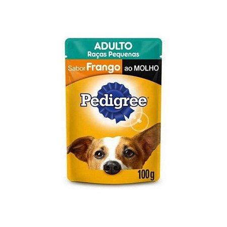 Sachê Pedigree Frango ao Molho para Cães Adultos