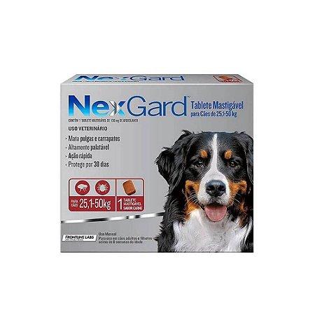 Nexgard Antipulgas e Carrapatos Mastigável 25,1kg a 50kg - Merial