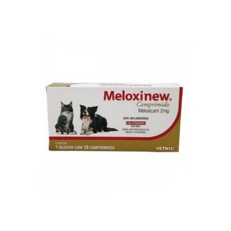 Meloxinew 2mg - 10 Comp. - Vetnil
