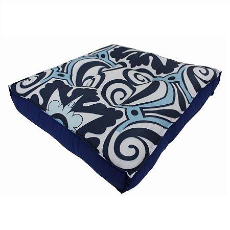 Futon Azulejo Azul 1062